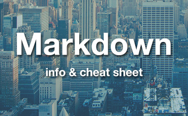 Markdown free cheat sheet