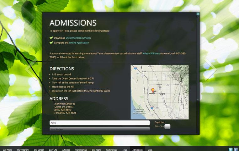 Telos_admissions